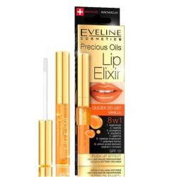 Eveline Precious Oils// Lip ELIXIR// Olejek do ust VANILLA 8 w 1