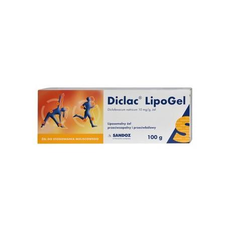 DICLAC LipoGel// Liposomalny zel przeciwzapalny i przeciwzapalny