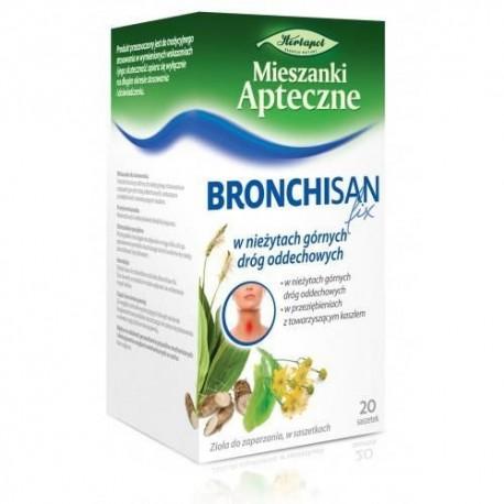 BRONCHISAN FIX// Herbatka ziolowa w niezytach Gornych Drog Oddechowych