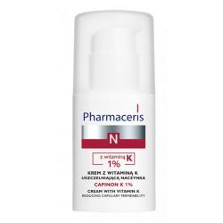ERIS PhN CAPINION K 1% // Krem z witamina K 1% - uszczelniajaca naczynka // kliniczna skutecznosc przeciw zaczerwienieniom