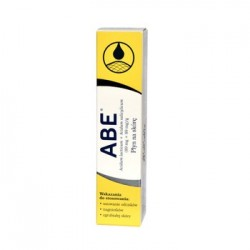 ABE - Plyn na skore // Usuwanie odciskow, nagniotkow, zgrubialej skory // 8g