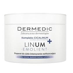 DERMEDIC LINUM EMOLIENT// Preparat do ciala intensywnie natluszczajacy// Kompleks CICALINUM+