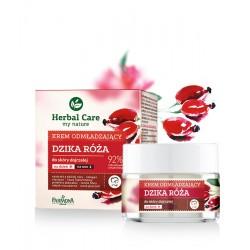 Farmona Herbal Care // krem odmladzajacy Dzika Roza // do skory dojrzalej // dzien / noc