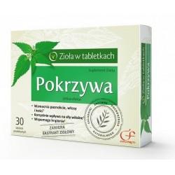 POKRZYWA  Ziola w tabletkach // Wzmacnia paznokcie, wlosy i kosci, korzystnie wplywa na sily witalne, wspomaga krazenie
