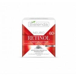 Bielenda Neuro Retinol 60+ // Odbudowujacy KREM- koncentrat przeciwzmarszczkowy dzien/noc / 89% widoczna redukcja zmarszczek