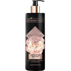 Bielenda\ Camellia Oil Luksusowe mleczko do ciala. Olej z kamelii, ceramidy, olej babassu