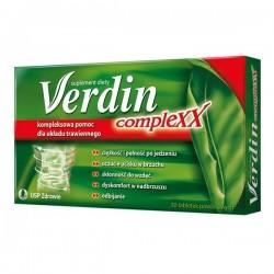 Verdin Complexx// Kompleksowa pomoc dla ukladu trawiennego// 30 tabletek powlekanych