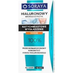 SORAYA Hialuronowy Mikrozastrzyk //  SERUM przeciwzmarszczkowy koncentrat kwasu hialuronowego // na dzien i na noc