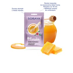 Soraya Foodie Miod manuka// Regenerujaca maseczka do twarzy
