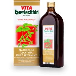 Vita Buerlecithin// Plyn doustny Srodek wzmacniajacy// Naturalna lecytytna oraz witaminy