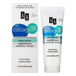AA Hial Collagen 30+ // BAZA- SERUM wygladzajace z kwasem hialuronowym / Nawilzenie+energia