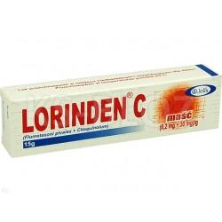 Lorinden C, maść, 15 g