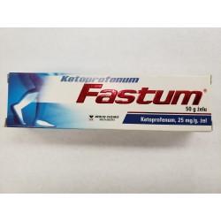 Ketoprofenum Fastum żel | 0,025 g/g | 50 g | tuba