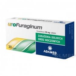 Urofuraginum // 30 tabletek// Zakazenia dolnych drog moczowych