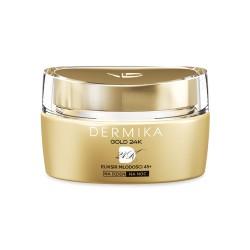 Dermika GOLD 24K Total Benefit /Eliksir mlodosci 45+ / Luksusowy krem DZIEN/NOC / Wielowymiarowy efekt odmlodzenia