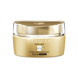 Dermika GOLD 24K Total Benefit // Stymulator mlodosci 55+ // Luksusowy krem DZIEN/NOC