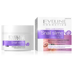 Eveline Skin Care Expert Snail Slime // Intensely Concentrated Regenerating Cream // Day / Night // All Skin Types, Sensitive