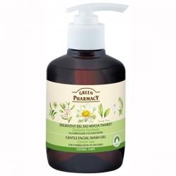 GREEN PHARMACY // Delikatny zel do mycia twarzy // Zielona herbata // Dla mieszanej i tlustej skory
