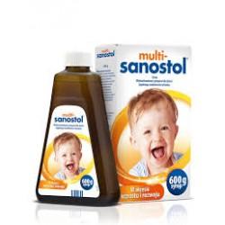 MULTI-SANOSTOL // Syrop // Wielowitaminowy Preparat dla Dzieci // W Okresie Wzrostu i Rozwoju