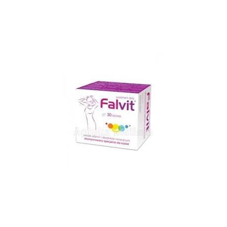 FALVIT // Zestaw witamin i skladnikow mineralnych skomponowany specjalnie dla kobiet