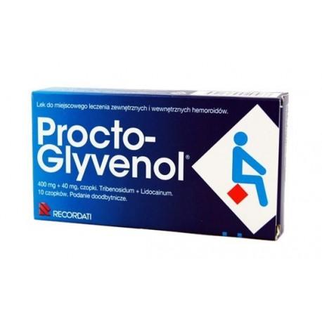 PROCTO-GLYVENOL // Miejscowe leczenie zewnetrznych i wewnetrznych hemoroidow.