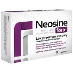 NEOSINE FORTE 1000 mg // Lek Przeciwwirusowy i Zwiekszajacy Odpornosc //10 tab.