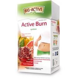 Big-Active ACTIVE BURN // Spalanie Tkanki Tluszczowej, Kontrola Wagi, Energia // Guarana, Morszczyn, Hibiskus