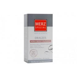 Merz Spezial DRAGEES Suplement diety // Swieza, promienna skora, Geste,lsniace wlosy, Mocne i piekne paznokcie // 60 drazetek
