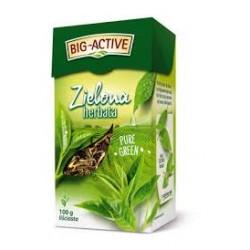Big-Active ZIELONA HERBATA // Lisciasta // 100g