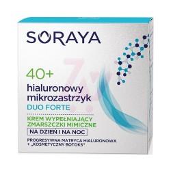 SORAYA Hialuronowy Mikrozastrzyk 40+ Wypelniane Zmarszczek Forte-Odnowa // regenerujacy krem na dzien i noc