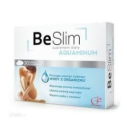 Be Slim AQUAMINUM suplement diety //Wspomaganie wydalania wody i kontroli wagi ciala