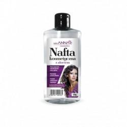 ANNA Nafta Kosmetyczna z aloesem /Aloes poprawia mikrokrazenie skory glowy,stymuluje porost wlosow,posiada wlasciwosci lagodzace