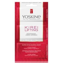 Perfecta YOSKINE KIREI LIFTING maska // Weekendowy Zabieg Japonski // super wygladzenie i regeneracja