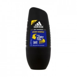 Adidas anti-perspirant roll-on SPORT ENERGY for men // cool& dry 72h