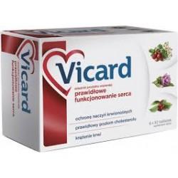 VICARD // Prawidlowe Funkcjonowanie Serca // ochrona naczyn krwionosnych, prawidlowy poziom cholesterolu, krazenie krwi