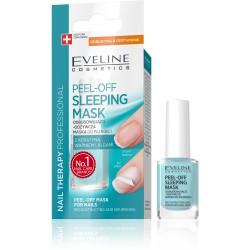 EVELINE Peel-Off Sleeping Mask // odbudowujaco-odzywcza maska do paznokci z keratyna, wapniem i algami