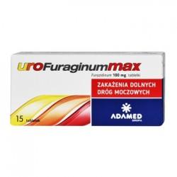 UROFuraginumMAX // Zakazenia dolnych drog moczowych // 15 tabletek