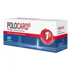 POLOCARD 75mg // tabletki dojelitowe - 60 sztuk // 1 tabletka na dobe