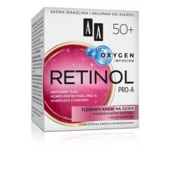 AA Oxygen Infusion RETINOL PRO-A 50+ // Tlenowy Krem na Dzien // Modelowanie Konturu + Wygladzenie