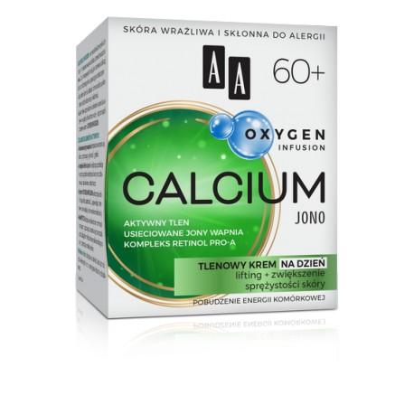 AA Oxygen Infusion CALCIUM JONO 60+ // Tlenowy Krem na Dzien // lifting + zwiekszenie sprezystosci skory
