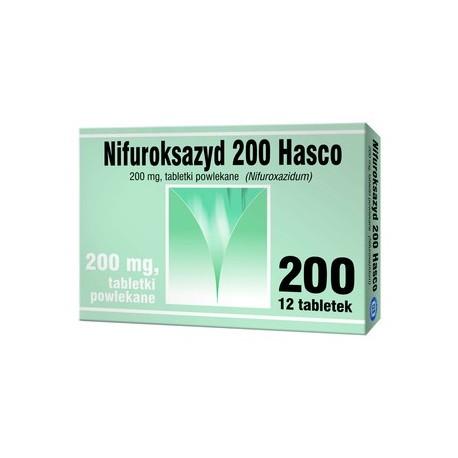 NIFUROKSAZYD 200 Hasco // tabletki 12sztuk