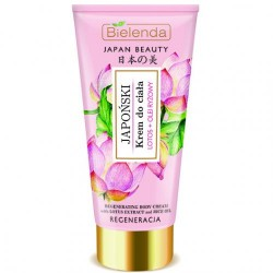Bielenda JAPAN BEAUTY // Japonski Krem do Ciala // lotos + olej ryzowy // regeneracja // 200ml