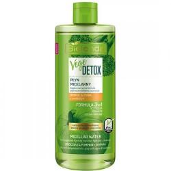 Bielenda VEGE DETOX // Plyn Micelarny 3w1 // brokul & dynia + prebiotyk // oczyszcza, odswieza // cera sucha, odwodniona
