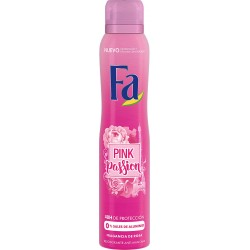 FA Deod. PINK PASSION Pink Rose Scent // 48H  PROTECTION //  anti-stains , 0 % ALUMINIUM SALT