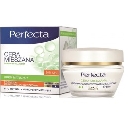 DAX Perfecta CERA MIESZANA // Krem matujacy, formula przeciwzmarszczkowa DZIEN/NOC / Fito-Retinol+mikroperly matujace