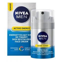 NIVEA MEN ACTIVE ENERGY //  Energetyzujacy krem do twarzy // odswiezona skora, kompleks witamin