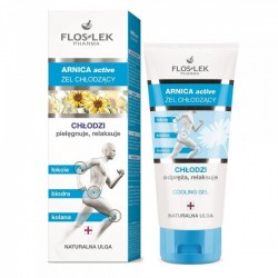 Arnica Active ZEL CHLODZACY // chlodzi, odpreza, relaksuje-naturalna ulga // FLOSLEK pharma
