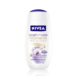NIVEA Kremowy olejek pod prysznic CASHMERE MOMENTS // Drogocenne proteiny kaszmiru i zmyslowy zapach orchidei