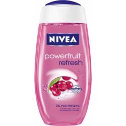 NIVEA Zel pod prysznic POWERFRUIT REFRESH // Energetyzujacy zapach goji oraz witamina C z zurawiny
