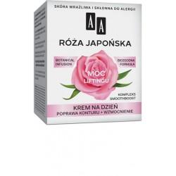AA ROZA JAPONSKA Moc Liftingu // krem na dzien // poprawa konturu + wzmocnienie // skora wrazliwa, sklonna do alergii